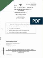 2014 Paper 2 Admath