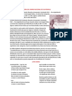 Historia Del Himno Nacional de Guatemala , la Granadera y La Jura de la bandera
