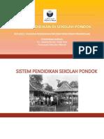 Sistem Pendidikan Sekolah Pondok