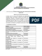 001 Seletivo Professor SRM 312017