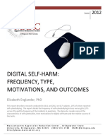 Digital Self Harm Report