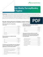 CommonSense Media + SurveyMonkey YouTube Kids Study