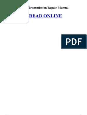Jcb Transmission Repair Manual | Loader (Equipment) | Manual ... on