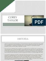 Corey Taylor Presentacion