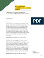 Documento sobre Mercosul