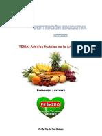 FRUTOS DE LA AMAZONÍA