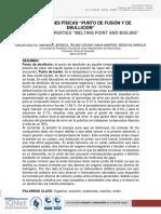 Informe de Ebullicion y Fusion