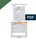 Utilización de Arrays y Pasar Datos Entre Formularios-javaii