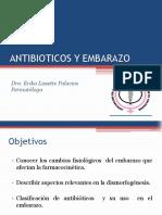 Antibióticos en el Embarazo Dra. Erika Palacios.pdf