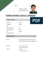 Curriculo Vitae - Edwin