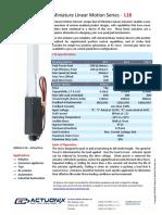 Actuonix+L16+Datasheet