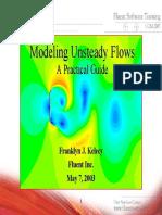FLUENT Modeling Unsteady Flows