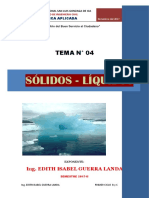 Sólidos y Líquidos 2017-II