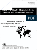 WHO_School Health Program 1999