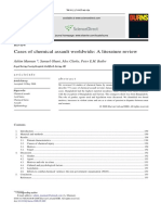 Cases of Chemical Assault Worldwide _ a Literature Review