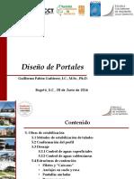 6.1.1.5. Portales - Obras de Estabilización