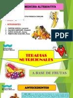 Terapias Nutricionales a Base de Frutas