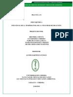 Informe Fisiciquimica Practica