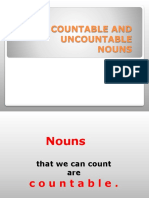 Countables and Uncontables Nous 1