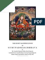 Eight Manifestation of Guru Rinpoche