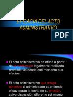 Eficacia Del Acto Administrativo Maestria-2