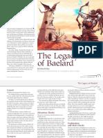 The Legacy of Baelard