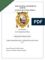 Informe Huaraz
