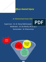 Difuse Axonal injury ptt