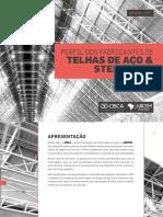Manual de fabricantes de telhas de aço e steel deck