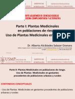 Clase 11 - CMCA - Plantas Medicinales en La Gestante Dr Salazar 2018-I