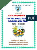 Plan de Trabajo Ambiental 2014