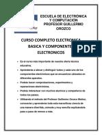 Electronica Basica y Componentes Electronicos Temario m15