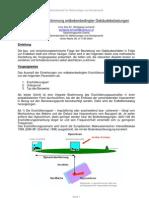 Methodik zur Bestimmung erdbebenbedingter Gebäudebelastungen