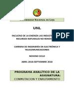 Prog Analitico Cye 2018