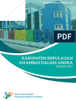 Kabupaten Kepulauan Anambas Dalam Angka 2017