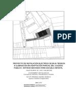 Proyecto Electricidad Antonio Machado