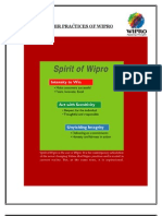 HR Practices of Wipro