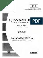 1. UN Bahasa Indonesia 2013