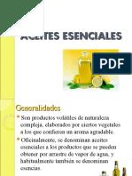 fitoquímica - aceites esenciales