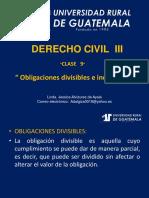 Derecho Civil III Clase 9