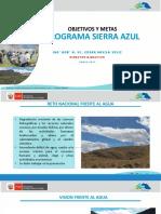 Objetivos y Metas de Sierra Azul