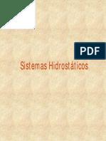 Sistemas Hidrostáticos