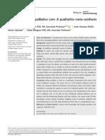 The Nurses Role in Palliative Care a Qualitative