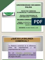 Balanza Comercial - Peru