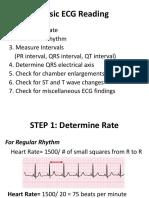 Basic ECG Reading
