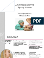 APARATO DIGESTIVO Semiologia Pediatrica