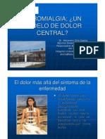 DOLOR CENTRAL EN LA FIBROMIALGIA Alejandro Orts