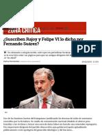 ¿Suscriben Rajoy y Felipe VI lo dicho por Fernando Suárez_.pdf