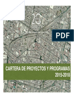 Cultura Cartera de Proyectos 2015-2018