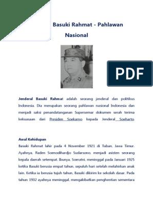 Jenderal anumerta Basuki Rachmat